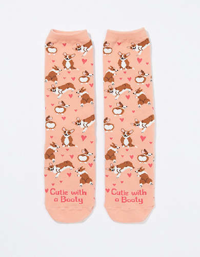 AE Corgi Day Crew Sock