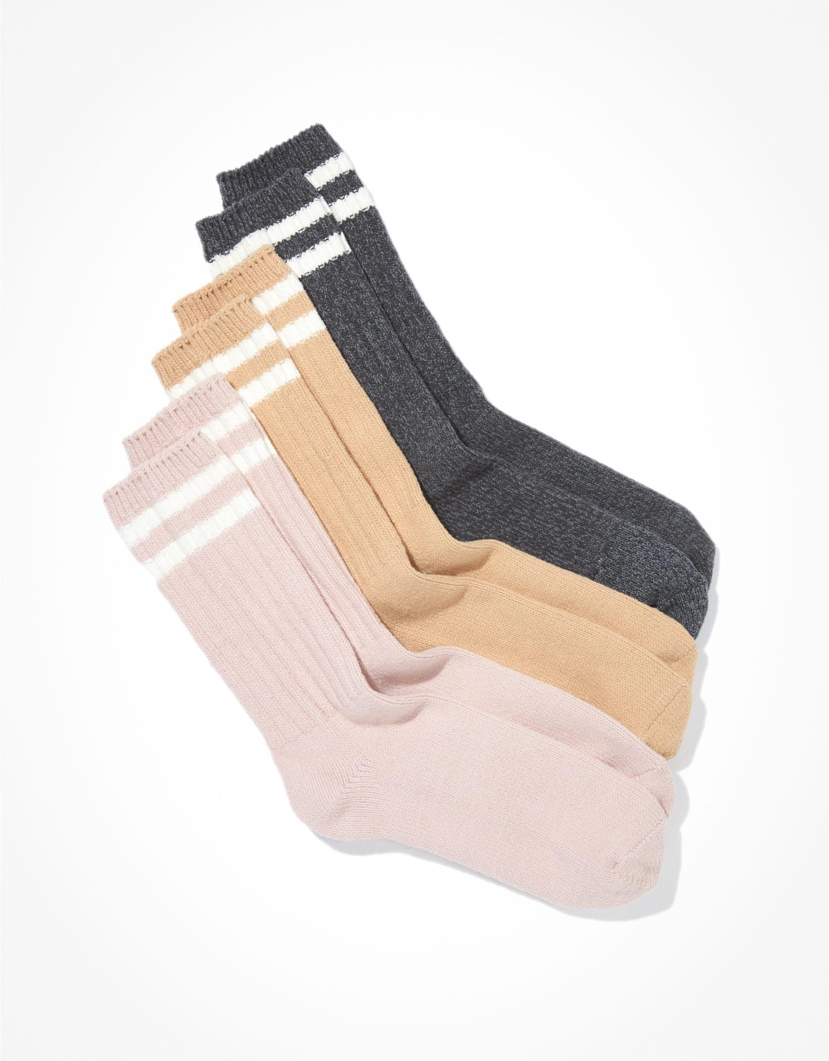 AE Striped Dad Socks 3-Pack