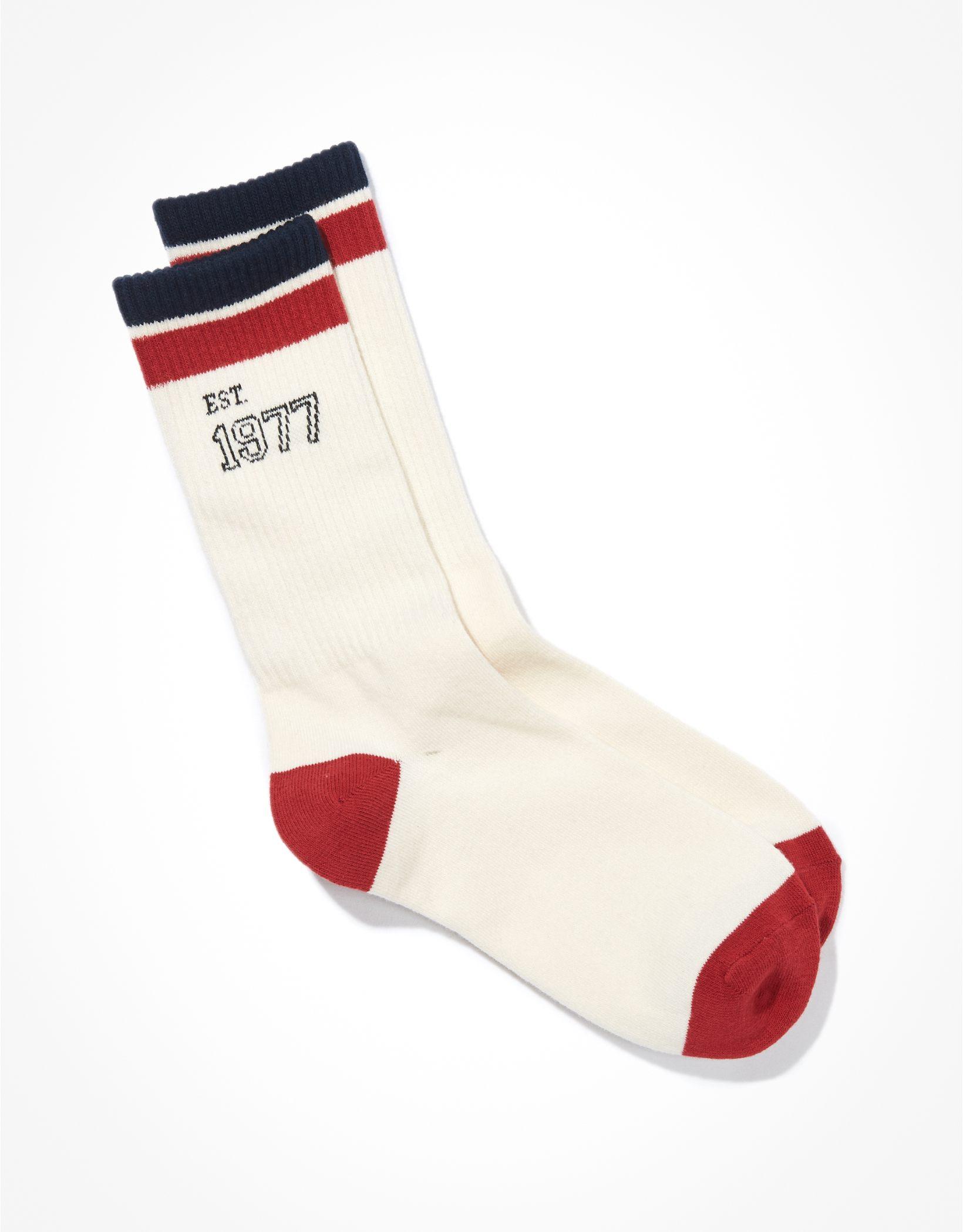 AE Vintage 1977 Dad Sock
