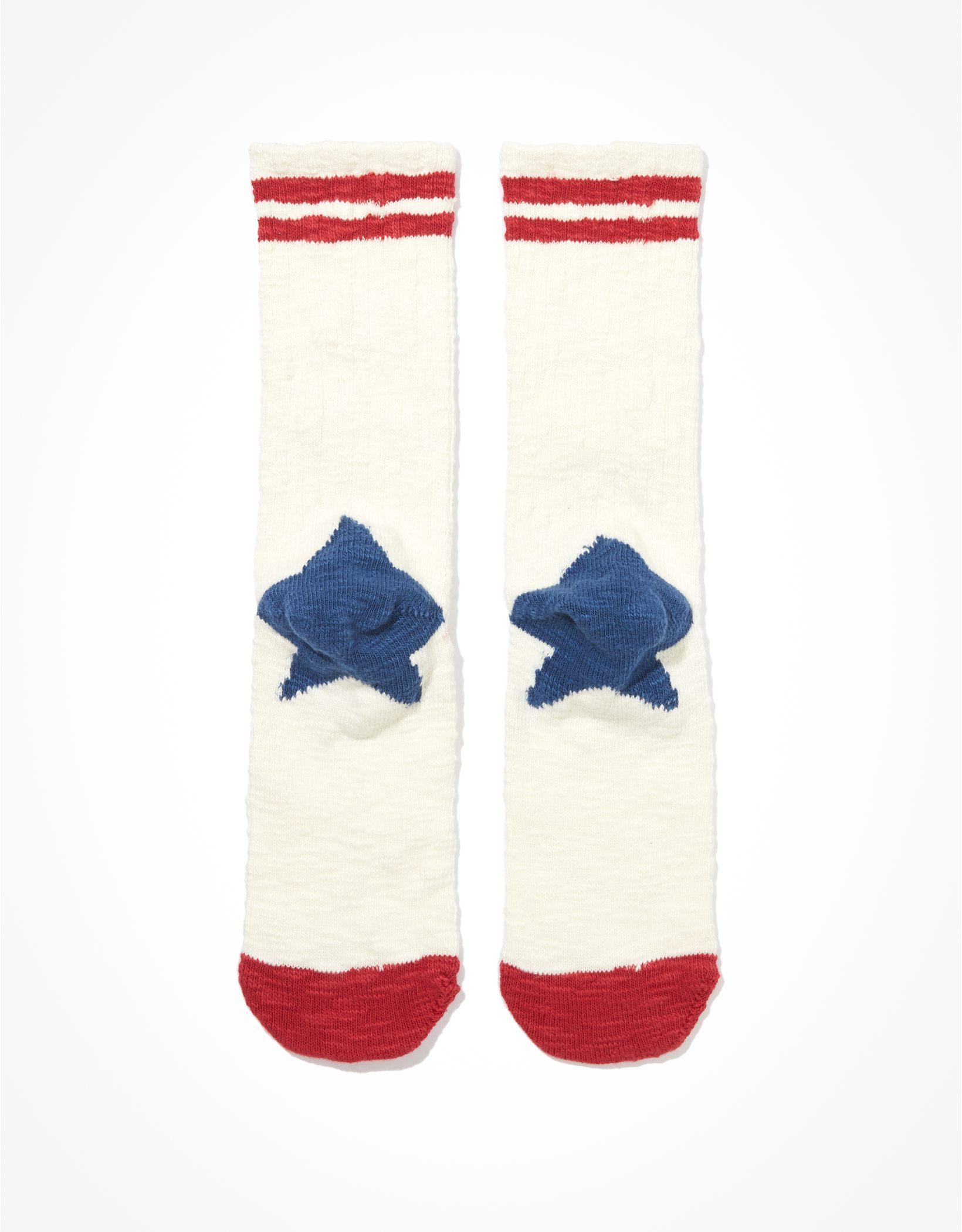 AE Star Heeled Dad Sock
