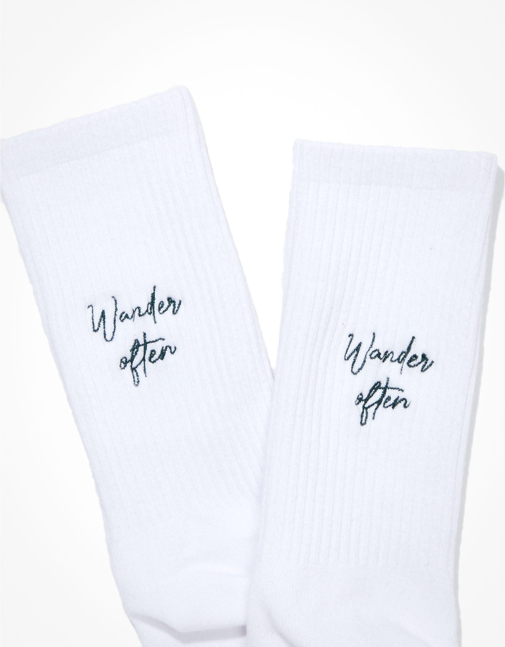 AE Wander Often Dad Sock