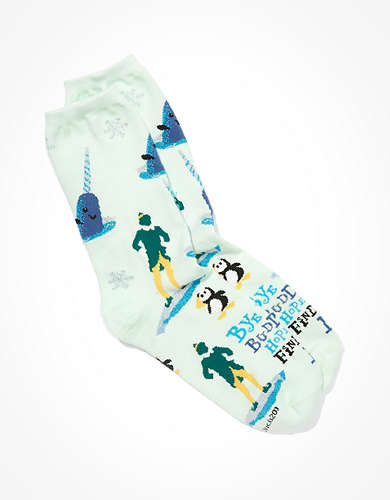 AE Elf Crew Sock