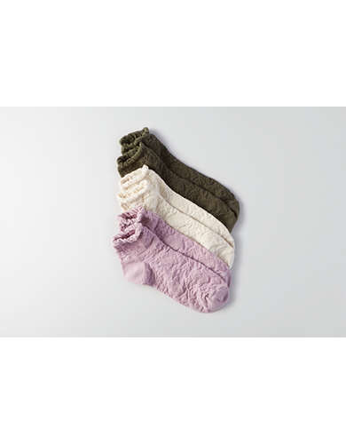 AEO Ankle Socks 3-Pack - Buy One Get One 50% Off