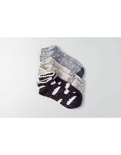 AEO Cloud Shortie Socks 3-Pack  - Buy One Get One 50% Off