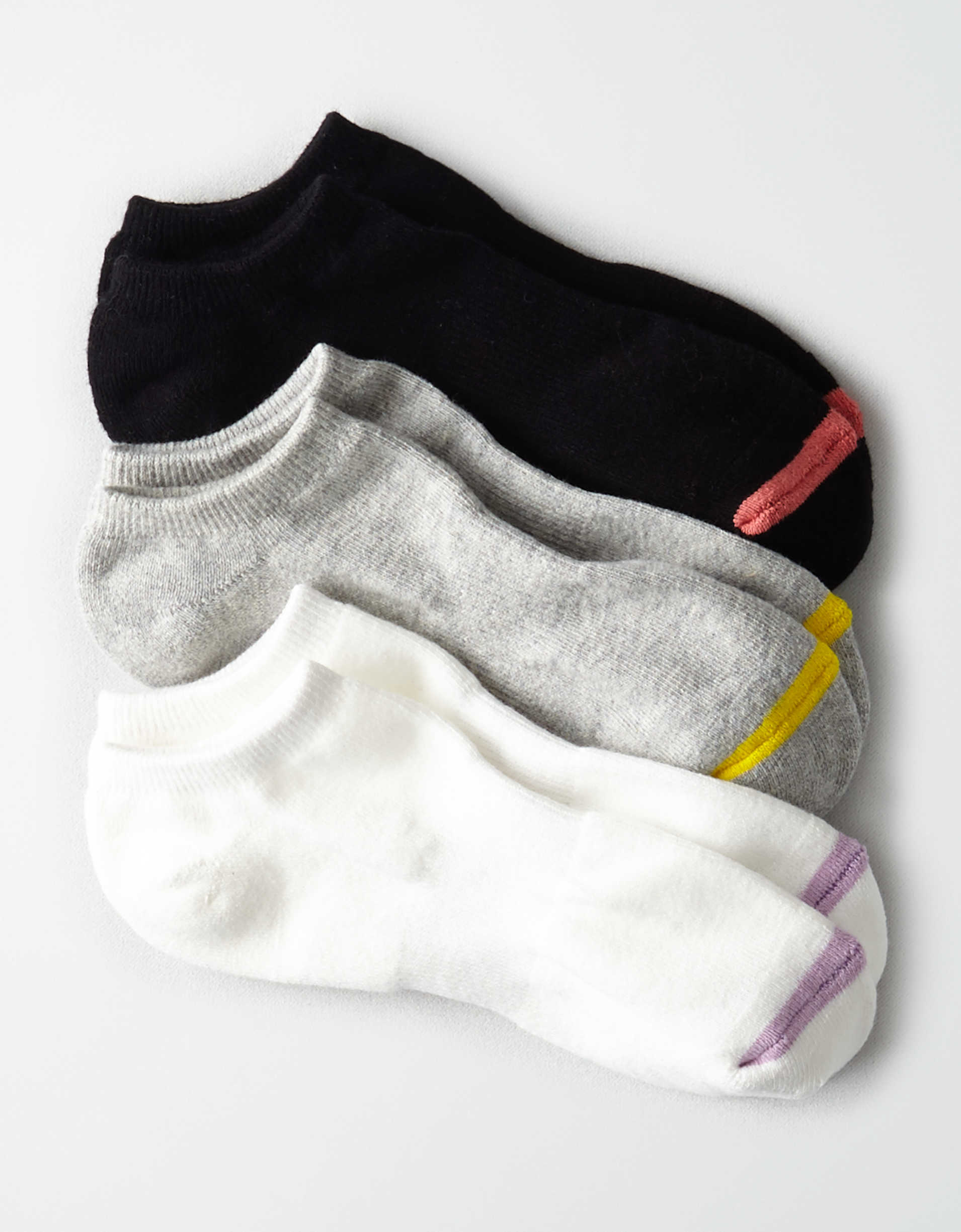 AEO Sporty Ankle Socks 3-Pack
