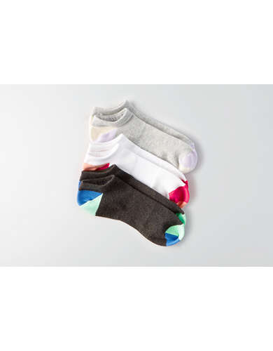 AEO Mesh Shortie Socks 3-Pack - Buy One Get One 50% Off