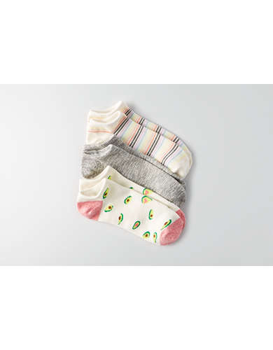 AEO Shortie Socks 3-Pack  - Buy One Get One 50% Off