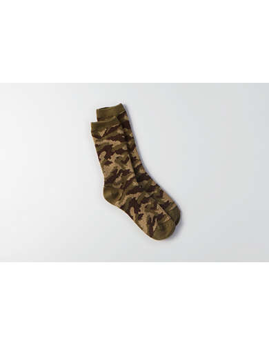 AEO Camo Crew Socks  - Buy One Get One 50% Off