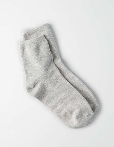 AEO STUDDED QUARTER SOCKS -