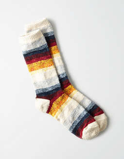Aeo Multi Striped Crew Sock by American Eagle Outfitters