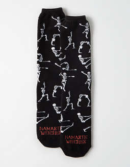 AEO Namaste Witches Crew Sock
