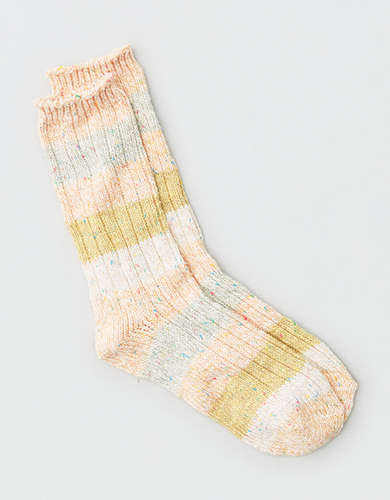 AEO Striped Crew Sock