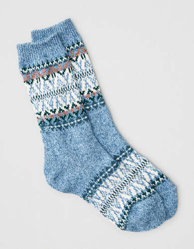 AEO Fairisle Crew Sock
