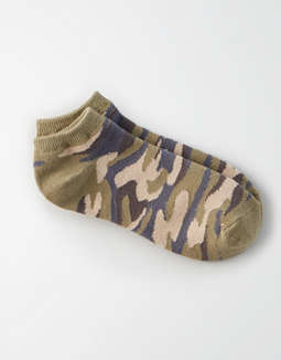 AEO Camo Ankle Sock