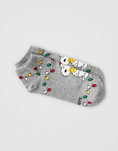 AEO Snoopy Lights Ankle Sock 1-Pack