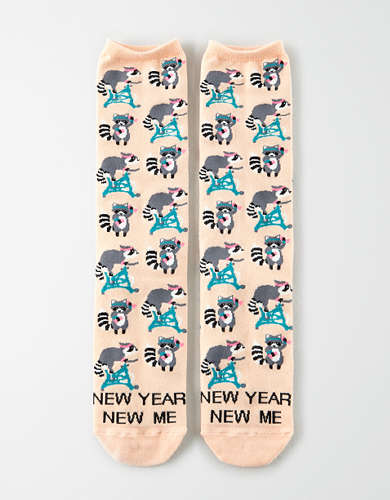AEO New Year Crew Sock