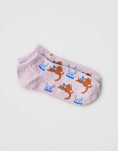 AEO K Initial Ankle Sock 1-Pack