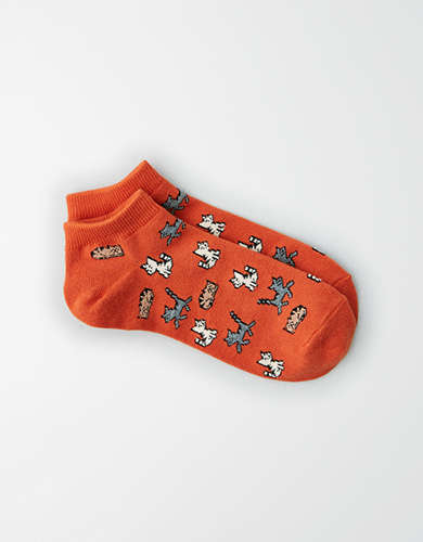 AEO Cat Ankle Sock