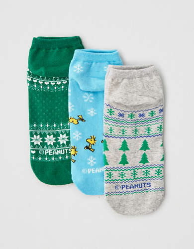 AEO Peanuts Ankle Socks 3-Pack