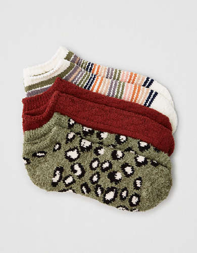 AEO Chenille Ankle Socks 3-Pack