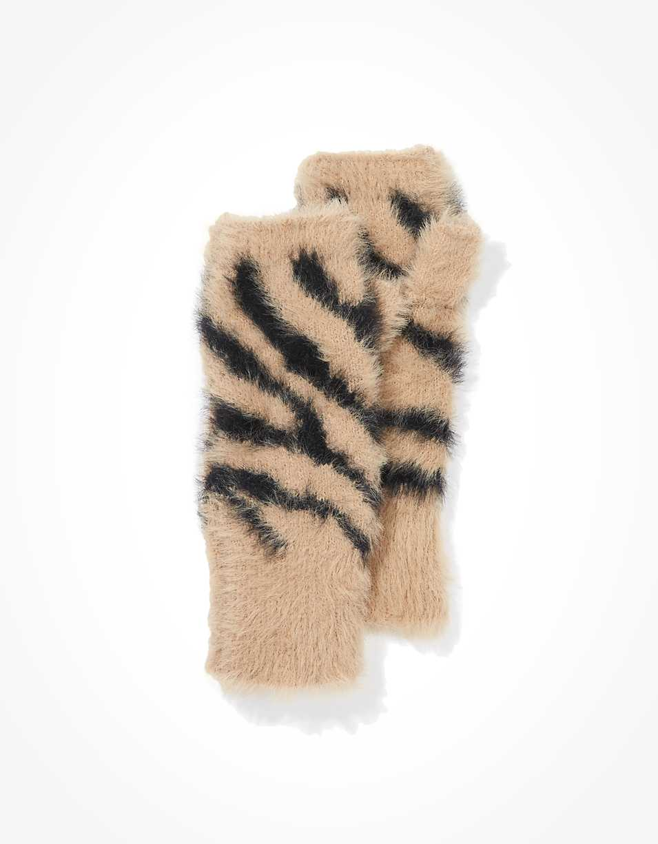 AE Tiger Fingerless Gloves