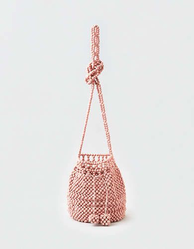 AEO Beaded Bucket Bag
