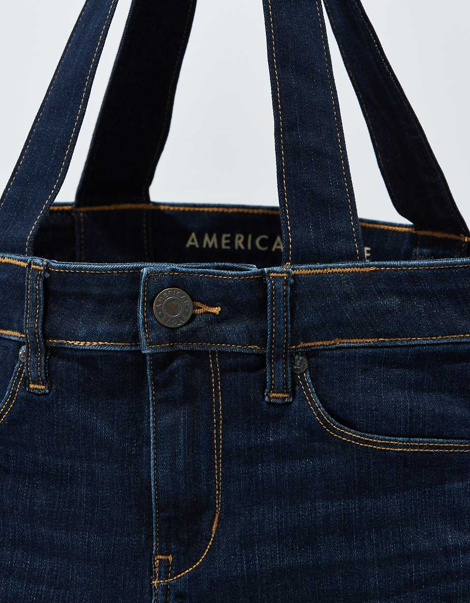 AEO Recycled Denim Tote