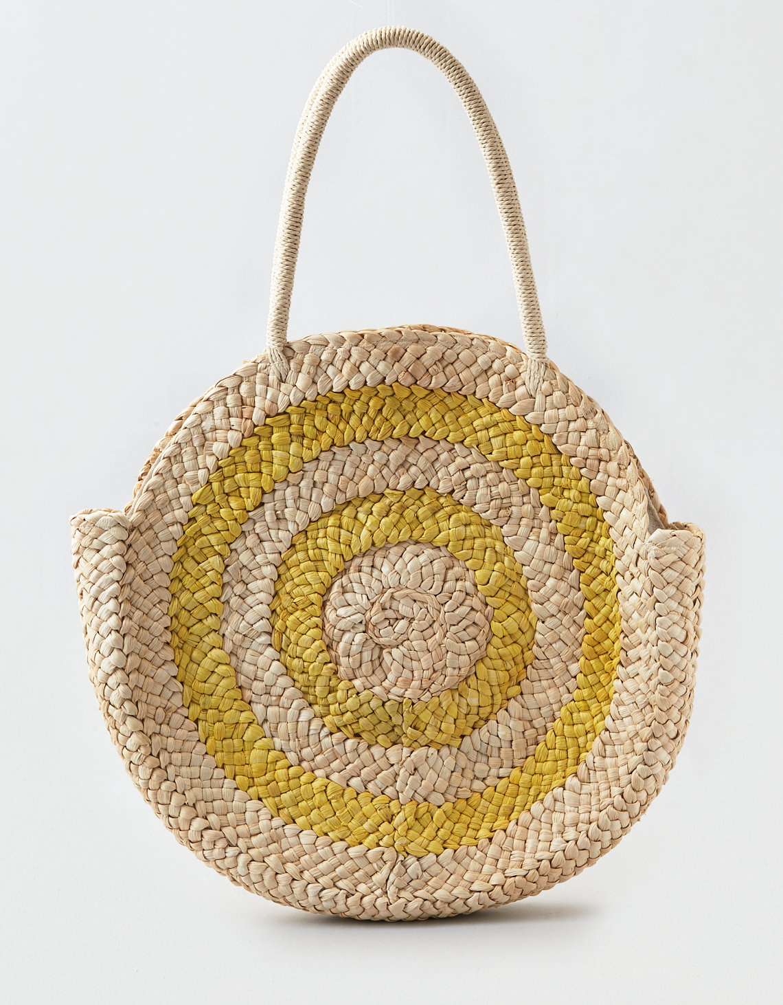 AEO Larger Round Straw Bag