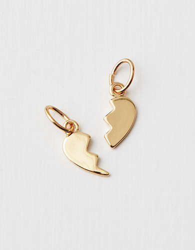 AEO Bff Heart Charms - Create Your Own Jewelry