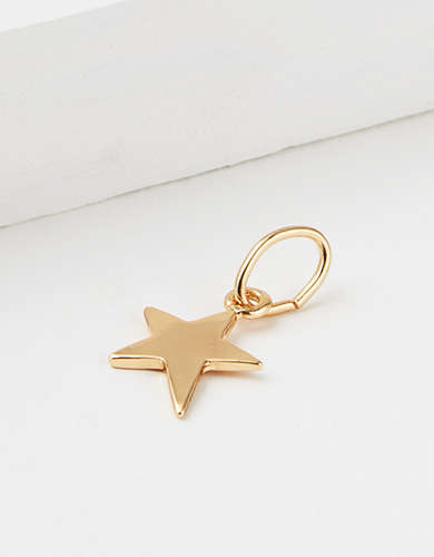 AEO Gold Star Charm - Create Your Own Jewelry
