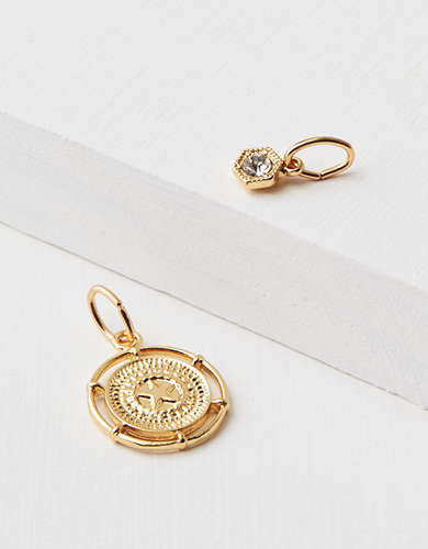 AEO Compass Charm - Create Your Own Jewelry