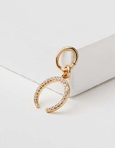 AEO Pave Horseshoe Charm - Create Your Own Jewelry