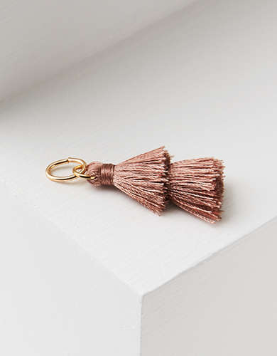 AEO Lilac Tiered Tassel Charm - Create Your Own Jewelry