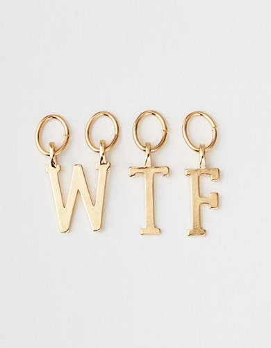 AEO Wtf Letters - Create Your Own Jewelry