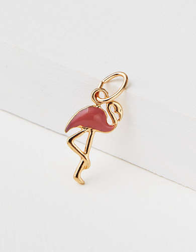 AEO Flamingo Charm - Create Your Own Jewelry
