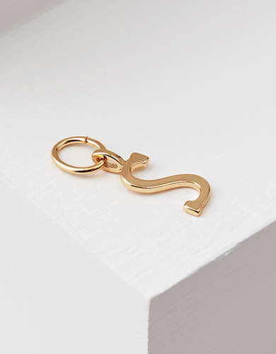 "AEO ""S"" Initial Charm - Create Your Own Jewelry"