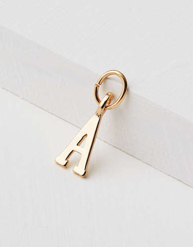 "AEO ""A"" Initial Charm - Create Your Own Jewelry"