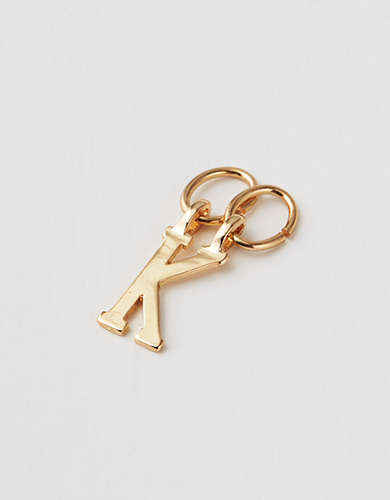 "AEO ""K"" Initial Charm - Create Your Own Jewelry"