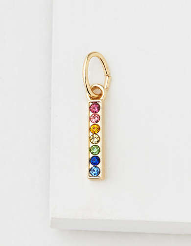 AE Rainbow Bar Charm - Create Your Own Jewelry