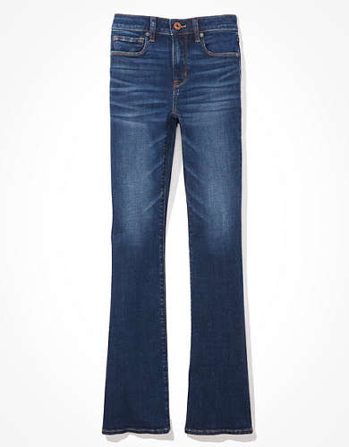 מכנסי ג'ינס High-Waisted Skinny Kick אמריקן איגל