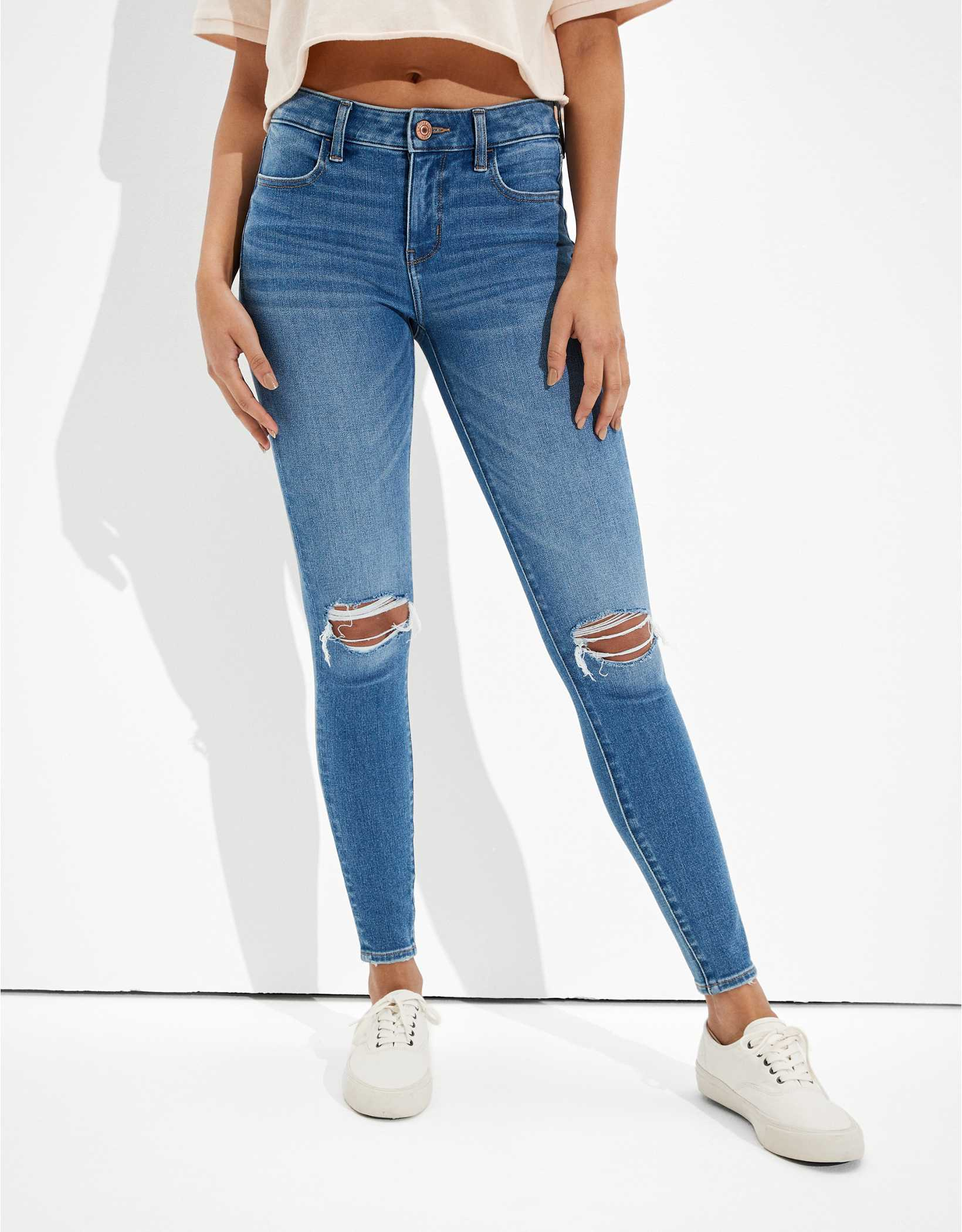 AE Dream Ripped Jegging