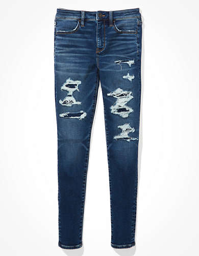 AE Cozy Ne(x)t Level Patched High-Waisted Jegging