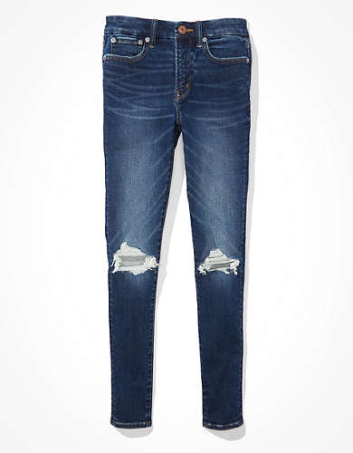 AE Lu(x)e Ripped High-Waisted Jegging