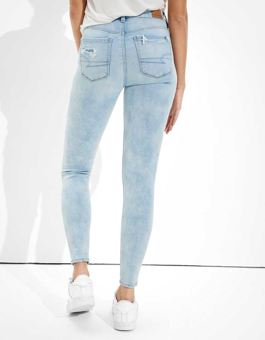 AE Forever Soft Ripped High-Waisted Jegging