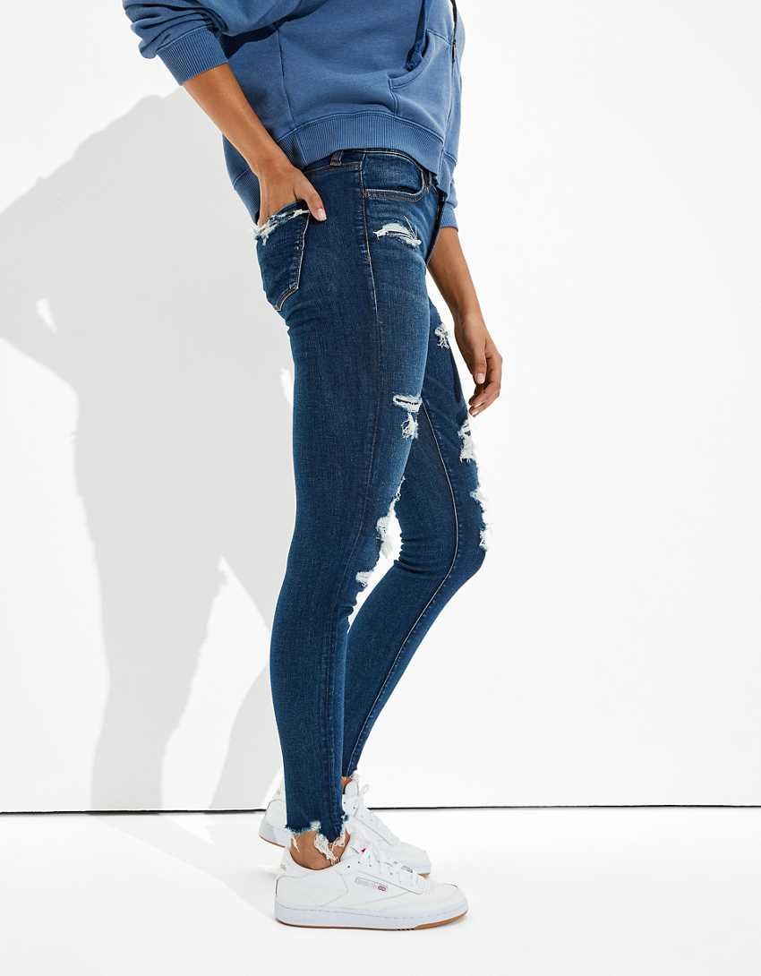 AE Ne(x)t Level Patched High-Waisted Jegging
