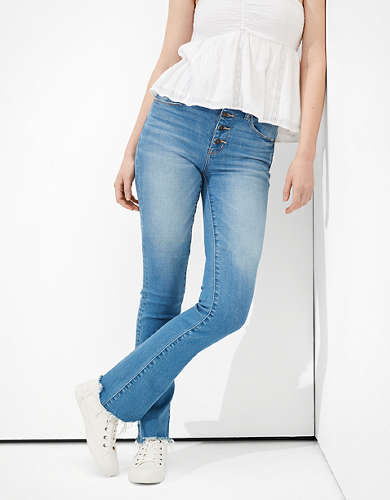 AE High-Waisted Skinny Kick Jean