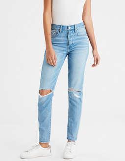 Jean Cintura Alta Femenino Y Relajado by American Eagle Outfitters