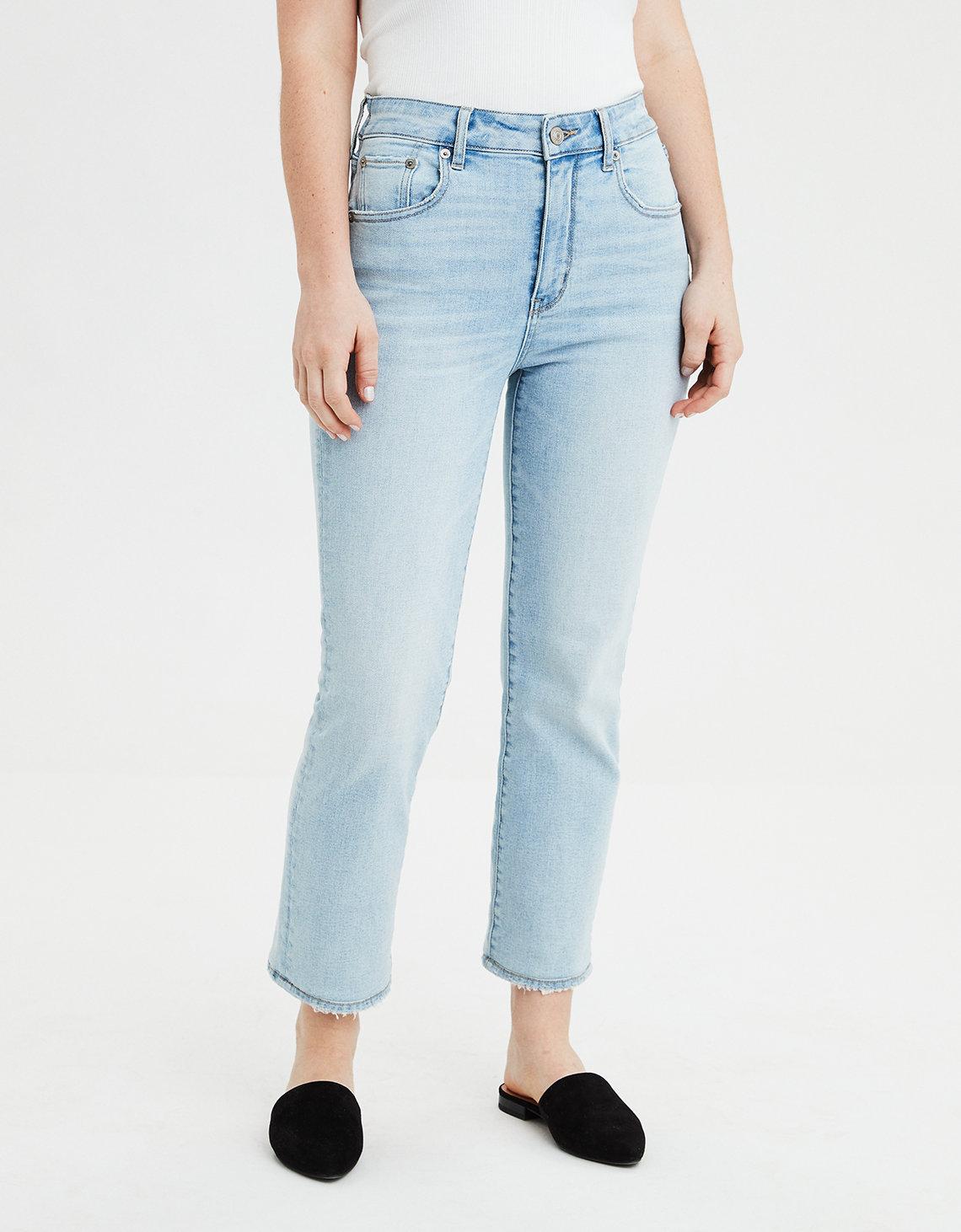 977e2db0e Super High-Waisted Slim Straight Crop Jean