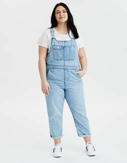 AE High-Waisted Tomgirl Denim Overall