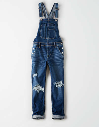Stretch Tomgirl Denim Overall